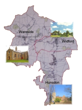 Map of Benefice